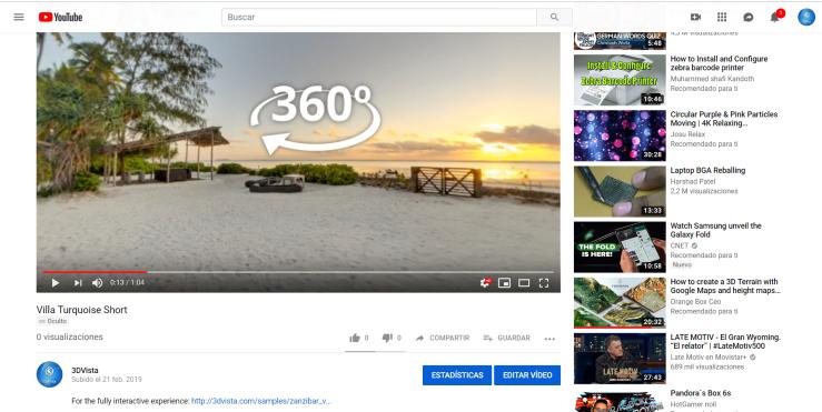 Virtual Tours on YouTube – 3DVista Editorial